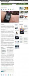 Pebble Smartwatch review - Telegraph Online